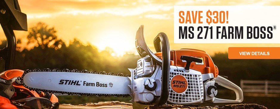 Save $30 on MS 271 FARM BOSS!